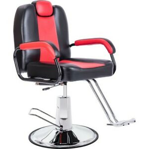 Modern High Back Black Ribbed Upholstered PU Leather Executive Office Chair Desk