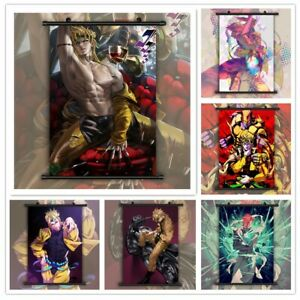 Jojos Bizarre Adventure Dio Brando Caesar HD Print Wall Poster Scroll Room Decor $19.99
