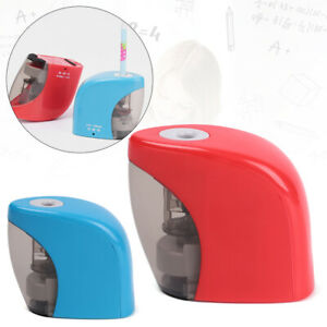 Auto Sharpener Cutting Pencil Tools Electric Sharpeners USB Charge Powered