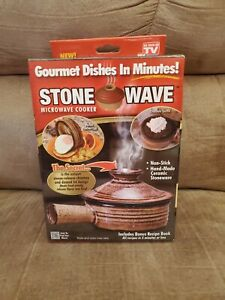 Stone Wave Microwave Cooker Stonewave Gourmet Cooker 11oz