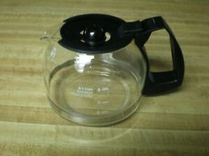 Mr. Coffee Replacement 4 Cup Carafe Black