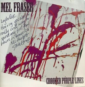 Mel Fraser: Crooked Purple Lines CD May 2010 CD Baby *Very Good* $19.62