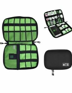 Electronics Organizer Accessories Travel Cable Organizer Storage Bag for Cables $9.99