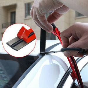 Car Sticker Windshield Roof Noise Insulation Seal Rubber Strip Car Accessories $7.64