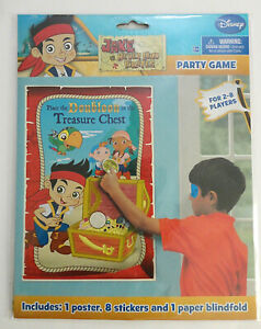 Disney Jake and the Neverland Pirates Birthday Party Game