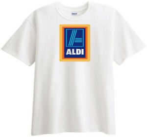 ALDI Discount Supermarket Grocery Store T shirt $17.99