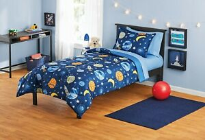 Your Zone Space Bed in a Bag Coordinating Comforter Set Twin