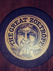 Vintage The Great Zoetrope Wheel Of Life Adult Toys Inc. 1966 base only