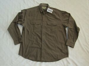 CABELA#x27;S Deerskin Soft CHAMOIS Men#x27;s Large NWT Brown