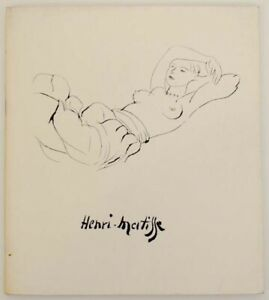 HENRI MATISSE FORTY LITHOGRAPHS ETCHINGS AND AQUATINTS First Edition #164541 $28.75