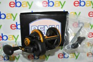 PENN Squall Lever Drag 40 Conventional Fishing Reel 6.1:1 Right handed SQL30LD
