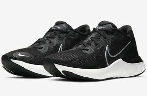 Nike Renew Run Running Shoes Black Gray White CK6357 002 Mens NEW $62.99