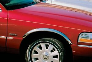 2003 2011 FORD Crown Victoria LX Grand Marquis LS Stainless Steel Fender Trim $86.99