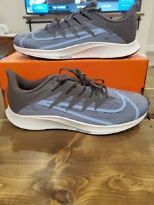 Nike Zoom Rival Fly Size 10.5 CD7288 500 Stellar Indigo Light Blue Vaporfly Run