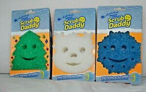 Scrub Daddy Special Holiday Editions Tree Snowflake Reindeer You Pick New $4.75
