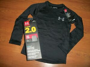 NWT boys youth Under Armour coldgear long sleeve fitted size YXS base layer $23.99