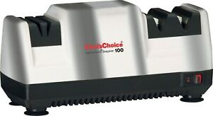 Chef#x27;s Choice Professional Diamond Hone Electric Knife Sharpener Chrome Edition