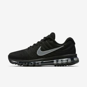 Nike Air Max 2017 Running Mens Shoes Black Anthracite White 849559 001 $149.99