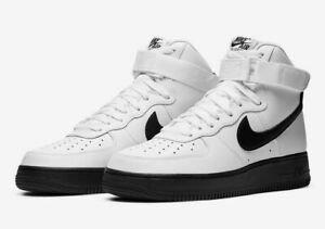 Nike Air Force 1 High 07 Shoes White Black Midsole CK7794 101 Mens NEW $120.99