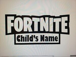 8x20 in Vinyl Adhesive Fortnite Wall Decoration Home Kids Wall Sticker $16.50