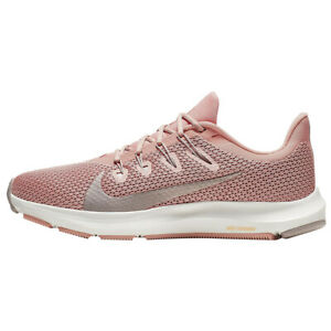 Nike Womens Quest 2 Running Shoes Pink Quartz Platinum CI3803 600 NEW $52.99