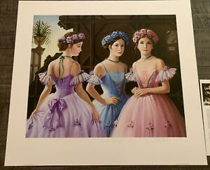 In the Wings by Pati Bannister Signed And Numbered $225.00