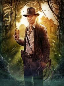 Indiana Jones and the Temple of Doom Idol Lithograph Poster Print 18x24 Mondo $105.98