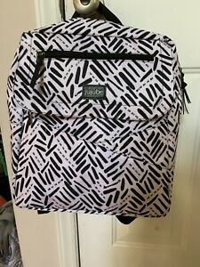 Jujube Core Convertible Backpack EUC New Accessories Black And White