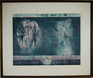 Jiri Anderle Czech b.1936 quot;Comedy №11quot; Original Etching Pencil Signed 1969 $650.00