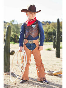 Cowboy Costume Play Set For Boys Chasing Fireflies Size 4 S
