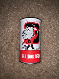 Georgia Bulldogs Antique Beer Cans