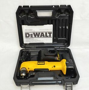 DEWALT RIGHT ANGLE DRILL DW965 WITH BATTERY AND CHARGER 12 VOLT $111.59