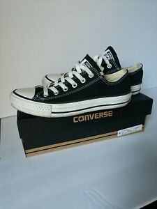 Converse All Star Ox Black Women#x27;s Size 7