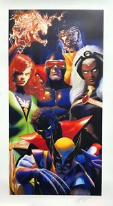 ALEX ROSS rare X MEN lithograph SIGNED COA SD 2020 Exclusive COCKRUM style AP13 $499.00