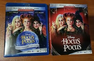 Hocus Pocus Blu ray Disc Bette Midler Kathy Najimy No Digital $10.00
