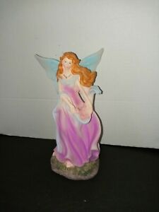 Angel Fairy Cherub Indoor or Garden Decoration 9quot; by 5quot; Polyresin Ceramic New $18.00