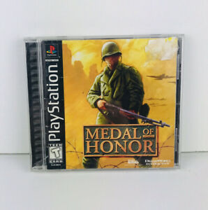 Metal of Honor Sony PS1 PlayStation 1 W manual Tested amp; Works $13.59