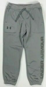 Boys Youth Under Armour Storm Jogger Sweat Pants Size S $28.99