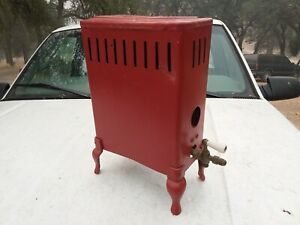 Vintage Metal Gas Heater Home Decor Old Machine Oven? $150.00