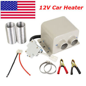 PTC 800W 12 Volt Automobile Car Electric Heater for Travel Camping in Winter USA