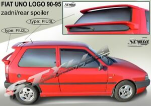 SPOILER REAR TRUNK BOOT ROOF TAILGATE FIAT UNO LOGO WING ACCESSORIES 2 types $99.00