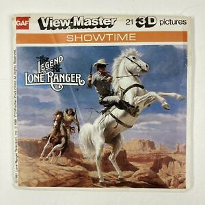 View Master GAF L26 The Legend Of The Lone Ranger Showtime Set Of 3 Reels 1981 $17.50
