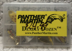 Panther Martin DDMO Deadly Dozen Spinner Kit Assorted 1 32 1 2