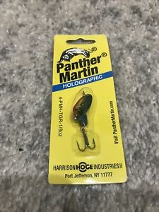 Panther Martin Holographic 1 8oz Green Trout SpinnerBait Lure Fishing Largemouth