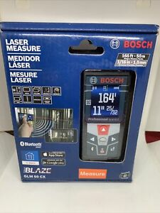 Bosch GLM 50 CX 165ft Laser Measure Bluetooth Full Color Display FACTORY SEALED $62.00
