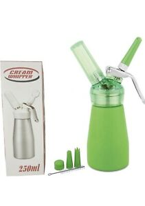 Whipped Cream Dispenser. 250ml With Nozzles And Cleaning Brush. New in Box $27.99