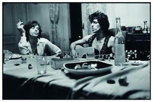 the Rolling Stones POSTER Mick Jagger Keith Richards EXILE ON MAIN STREET $14.94