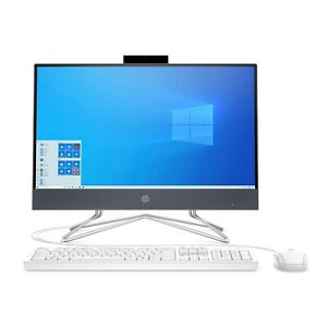 NEW HP 22 DF0013W 22quot; ALL IN ONE DESKTOP COMPUTER INTEL 3.20GHz 4GB 256GB SSD