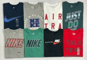 Mens Nike Cotton Tee Athletic Cut T Shirt $18.99