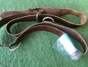 Leather Harness Horse Surcingle with 3 rings pv11 $21.95